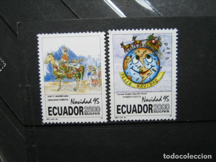 ECUADOR 1995 SERIE NAVIDAD 95 MNH** LUJO!!! (Sellos - Extranjero - América - Ecuador)