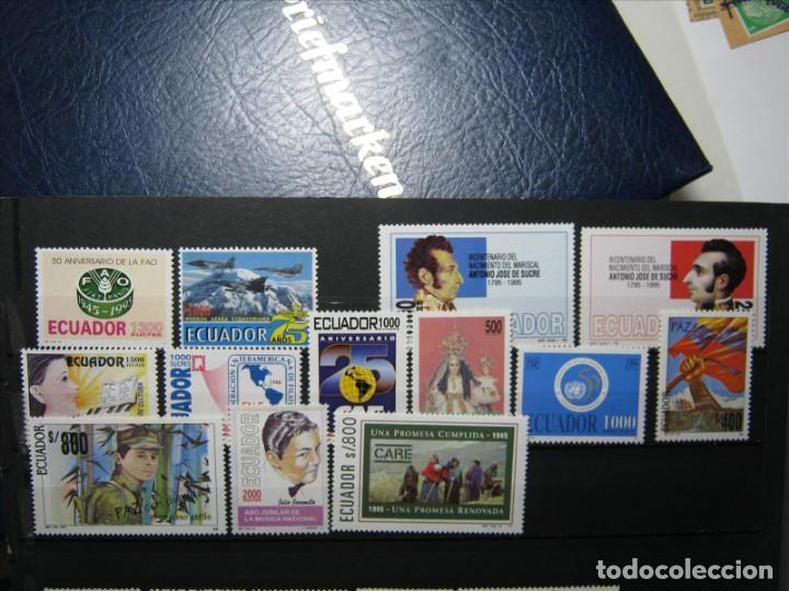 ECUADOR LOTE 1995 MNH** LUJO!!! (Sellos - Extranjero - América - Ecuador)