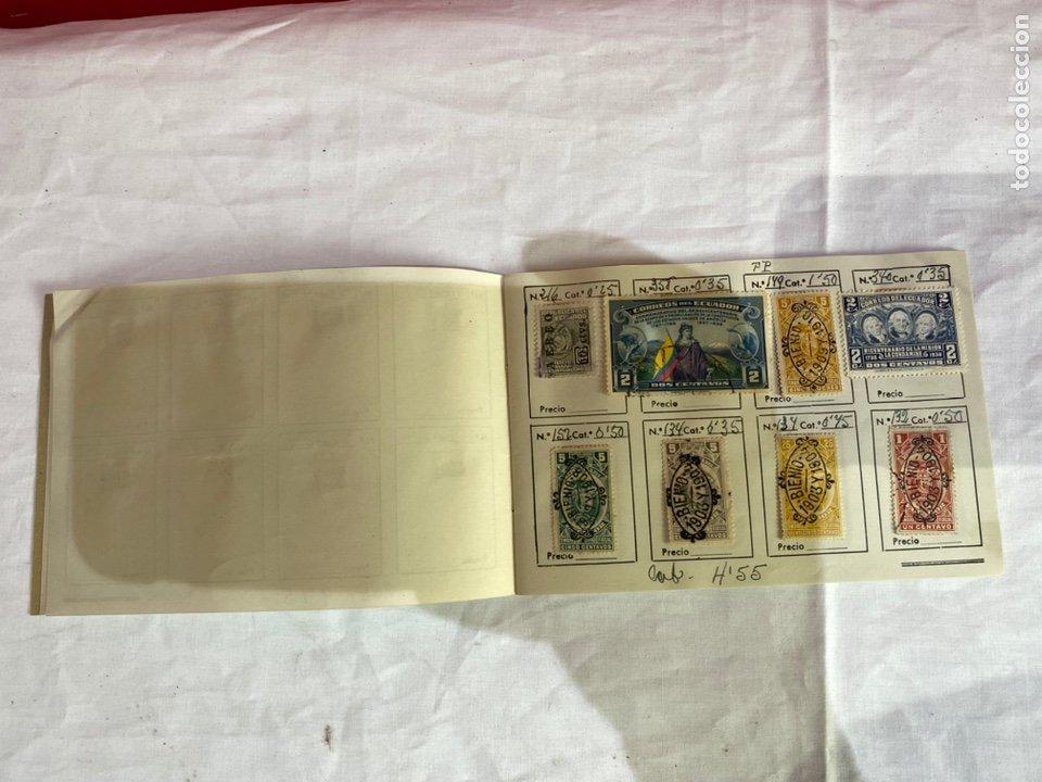 Sellos: Álbum de sellos antiguos ECUADOR clasificados . Ver fotos - Foto 5 - 261699775