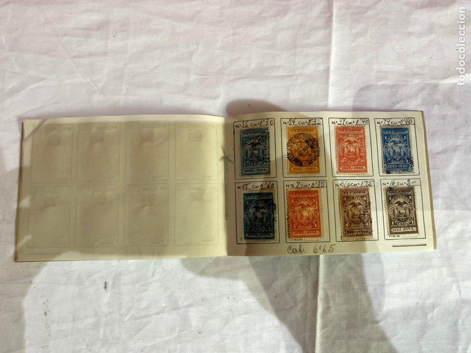 Sellos: Álbum de sellos antiguos ECUADOR clasificados . Ver fotos - Foto 7 - 261699775