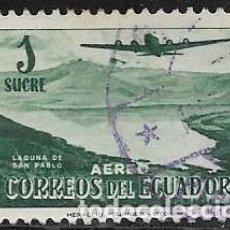 Sellos: ECUADOR AÉREO YVERT 264. Lote 263260015