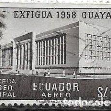 Sellos: ECUADOR AÉREO YVERT 329. Lote 263260260