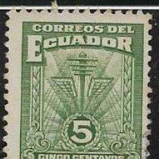Sellos: ECUADOR BENEFICENCIA YVERT 14. Lote 263741605