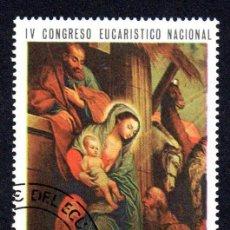 Sellos: RRC MI:EC 1338 ECUADOR 1967 *CTO*. Lote 267264039