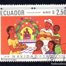 Sellos: RRC MI:EC 1397 ECUADOR 1967 *CTO*. Lote 267269564