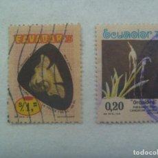 Sellos: LOTE DE 2 SELLOS DE ECUADOR. Lote 267273259