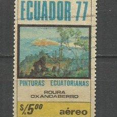 Sellos: ECUADOR CORREO AEREO YVERT NUM. 663 USADO. Lote 277458298