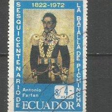 Sellos: ECUADOR CORREO AEREO YVERT NUM. 549 USADO. Lote 277458423