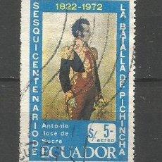 Sellos: ECUADOR CORREO AEREO YVERT NUM. 550 USADO. Lote 277458468