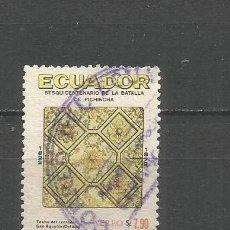 Sellos: ECUADOR CORREO AEREO YVERT NUM. 569 USADO. Lote 277458643