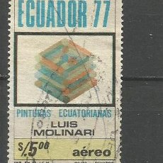 Sellos: ECUADOR CORREO AEREO YVERT NUM. 662 USADO. Lote 277458823