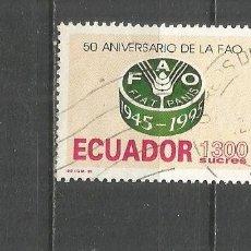 Sellos: ECUADOR YVERT NUM. 1337A USADO. Lote 277829183