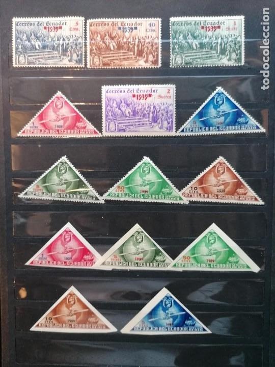 Sellos: Ecuador sellos Descubrimiento De America año 1939 sellos nuevos *** - Foto 2 - 285316208
