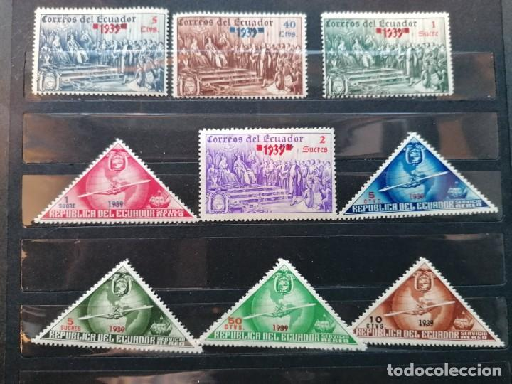 Sellos: Ecuador sellos Descubrimiento De America año 1939 sellos nuevos *** - Foto 3 - 285316208