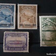 Sellos: ECUADOR,1950,CAT.YT.531 Y PA.217/219.. Lote 288952303