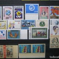 Sellos: ECUADOR LOTE SERIES AÑOS 93-95 MNH** LUJO!!! ALTO VALOR!. Lote 290014318
