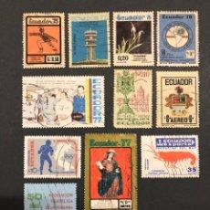 Sellos: LOTE 11 SELLOS ECUADOR. Lote 291194143