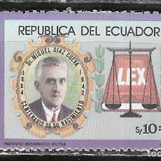 Sellos: ECUADOR Nº 1051 (**). Lote 294086403