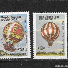 Sellos: ECUADOR Nº 1056 AL 1057 (**). Lote 294086873