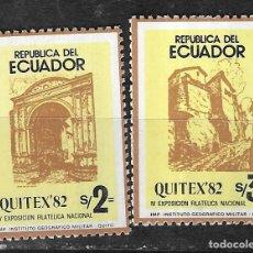 Sellos: ECUADOR Nº 1021 AL 1022 (**). Lote 294089538