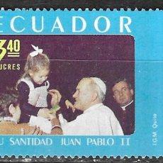 Sellos: ECUADOR Nº 1009 (**). Lote 294090368