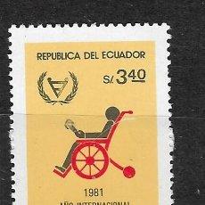 Sellos: ECUADOR Nº 1020 (**). Lote 294090853