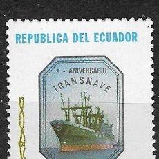 Sellos: ECUADOR Nº 1019(**). Lote 294091163