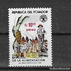 Sellos: ECUADOR Nº AE 740 (**). Lote 294140763