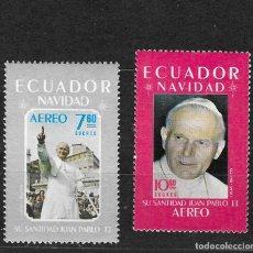 Sellos: ECUADOR Nº AE 727 AL 728 (**). Lote 294141678