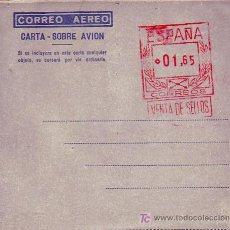 Sellos: AEROGRAMA NUEVO CON FRANQUEO MECANICO PREVIAMENTE IMPRESO (EDIFIL NUMERO 13). GRAN CALIDAD. MPM.. Lote 26158414