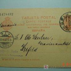 Sellos: 4888 ENTERO POSTAL ALFONSO XIII - AÑO 1902 - 10 CTMOS - CIRCULADO - MAS EN MI TIENDA C&C. Lote 10516703