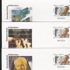 Stamps - tema barcelona y guerra civil SOBRES ENTERO POSTALES CONMEMORATIVOS OFICIALES Nº 39 - 27302308