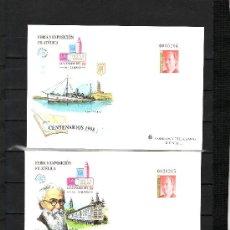 Sellos: ESPAÑA S.E.P. 46/7 NUEVO, FERIA Y EXPOSICIONES FILATELICA CENTENARIO DE 98, LA CORUÑA. Lote 20712774
