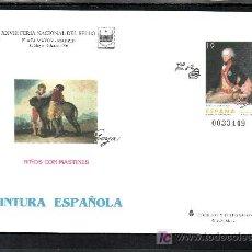 Sellos: ESPAÑA S.E.P. 35 NUEVO, PINTURA, GOYA, XXVIII FERIA NACIONAL DEL SELLO, MADRID. Lote 19867079