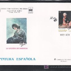 Sellos: ESPAÑA S.E.P. 35 NUEVO, PINTURA, GOYA, XXVIII FERIA NACIONAL DEL SELLO, MADRID. Lote 19832036
