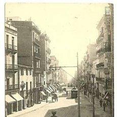 Sellos: TARJETA POSTAL CIRCULADA COMO IMPRESO, BARCELONA 1902 CALLE MAYOR GRACIA DE HAUSER Y MENET. Lote 27370359
