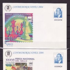 Sellos: ESPAÑA S.E.P. 90 (2 TIPOS) NUEVO, AJEDREZ, COMICS, XXXVI FERIA NACIONAL DEL SELLO, MADRID. Lote 176340079