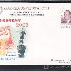 Sellos: ESPAÑA S.E.P. 88 NUEVO, EXPOSICION FILATELICA Y FERIA DEL SELLO Y LAS MONEDAS FILABARNA 2003,. Lote 176280720