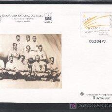 Sellos: ESPAÑA S.E.P. 78 NUEVO, CENTENARIO DEL REAL MADRID CLUB DE FUTBOL, XXXIV FERIA NACIONAL. Lote 16253331