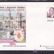 Sellos: ESPAÑA S.E.P. 75 NUEVO, FERIA Y EXPOSICION FILATELICA VALENCIA 2002. Lote 21887305