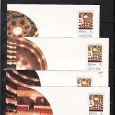 Sellos: ESPAÑA S.E.P. 68 (4 TIPOS) NUEVO, GRAN TEATRO DEL LICEO, BARNAFIL 2001. Lote 20475077