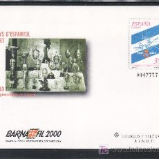 Stamps - españa s.e.p. 59 nuevo, deporte, futbol, centenario del r.c.d. español, barnafil 2000 - 20578393