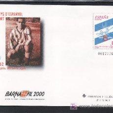 Stamps - españa s.e.p. 59 nuevo, deporte, futbol, centenario del r.c.d. español, barnafil 2000 - 23991317