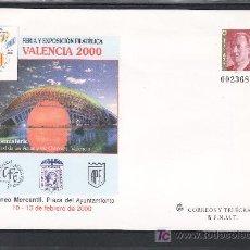 Sellos: ESPAÑA S.E.P. 58 NUEVO, CIUDAD DE LAS ARTES Y LAS CIENCIAS, FERIA Y EXP. FIL. VALENCIA 2000. Lote 16203807