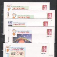 Sellos: ESPAÑA S.E.P. 58 (5 TIPOS) NUEVO, MUSICA, FERIA Y EXPOSICION FILATELICA VALENCIA 2000. Lote 28608660