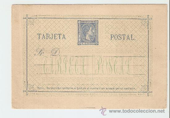 1875 - ALFONSO XII - COMUNICACIONES (Sellos - España - Entero Postales)