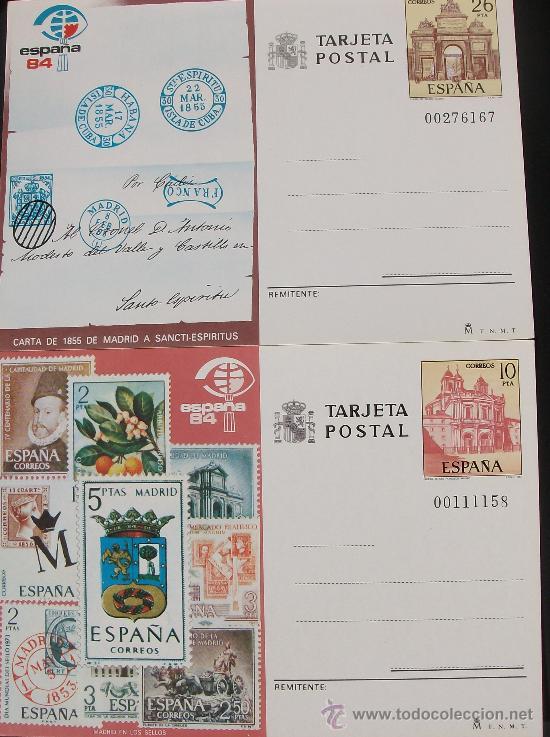 ENTEROS POSTALES 1984 (Sellos - España - Entero Postales)