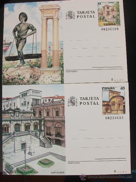ENTEROS POSTALES 1987 (Sellos - España - Entero Postales)
