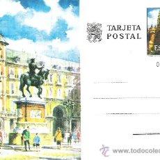 Sellos: TARJETA ENTERO POSTAL SIN CIRCULAR -- AÑO 1973 -- Nº EDIFIL 102 - PLAZA MAYOR ( MADRID ). Lote 19173619