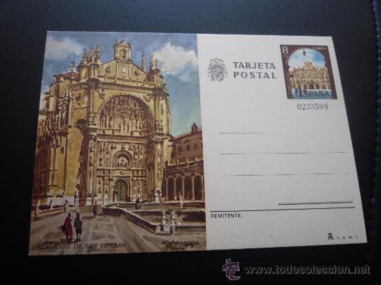 TARJETA ENTERO POSTAL,CONVENTO DE SAN ESTEBAN,SALAMANCA,1979. (Sellos - España - Entero Postales)